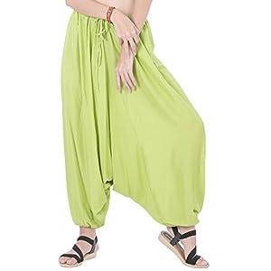 CandyHusky Hombres Mujeres Baggy Hippie Boho Gypsy Yoga Aladdin harén Pantalones Trajes | DeHippies.com