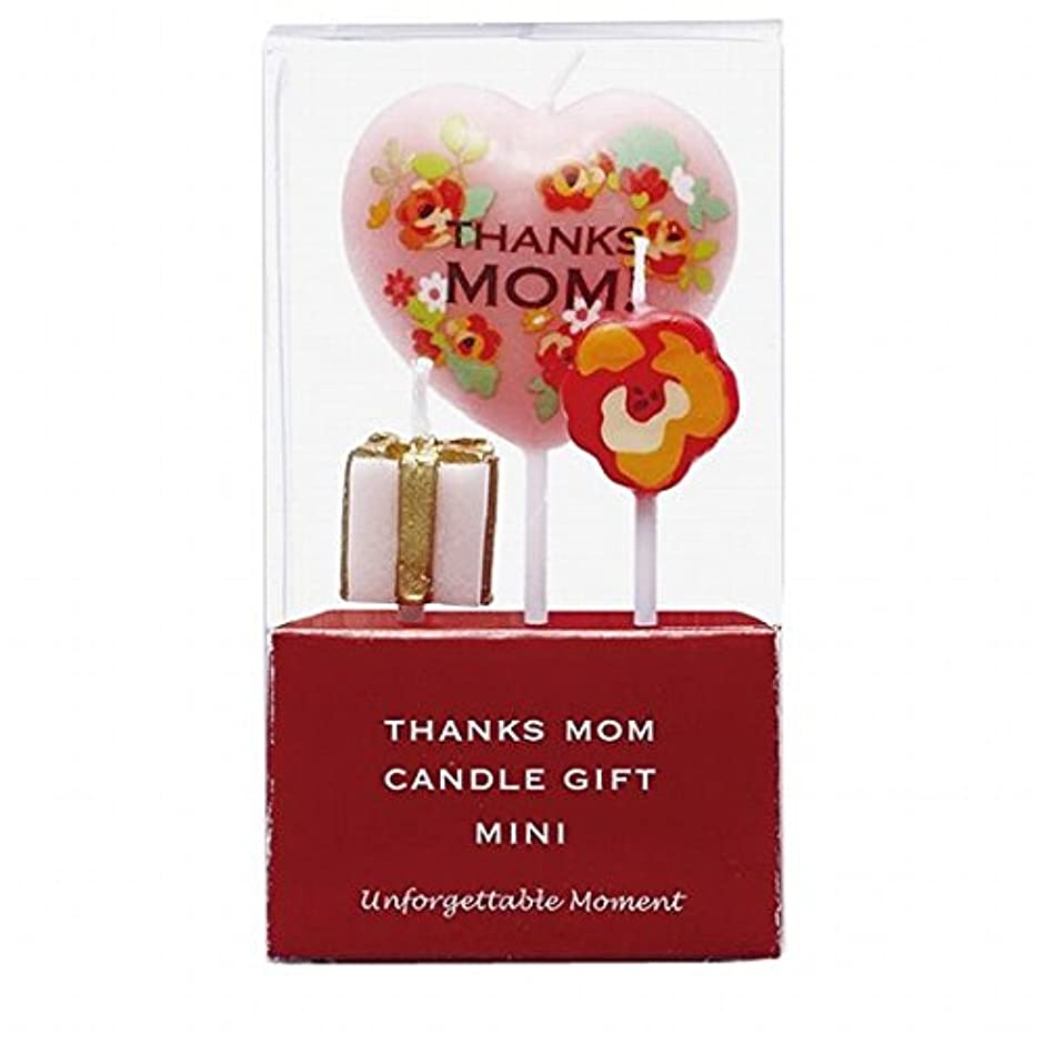 強います無線うぬぼれカメヤマキャンドル(kameyama candle) おかあさんありがとうキャンドルギフトミニ