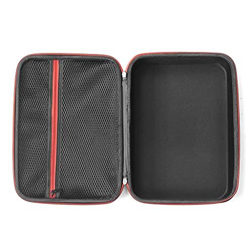 HARZELN Portátil viaje EVA caja de transporte compatible con SoundTouch 10 altavoz inalámbrico bolsa de almacenamiento diseño cremallera fácil de abrir
