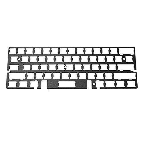 Tutoy Aluminium Board Plate Mechanical Keyboard Universal Rahmen für RS60 GH60 PCB - Rot