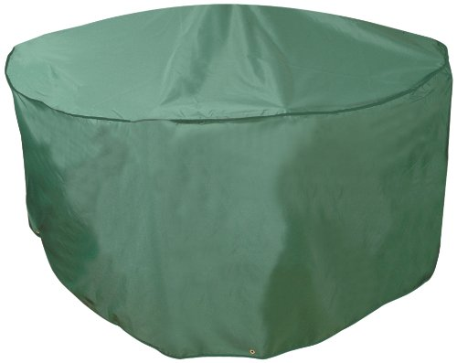Bosmere Weatherproof Cafe Round Table & Chairs Cover 43' Diameter x 34' High, Green