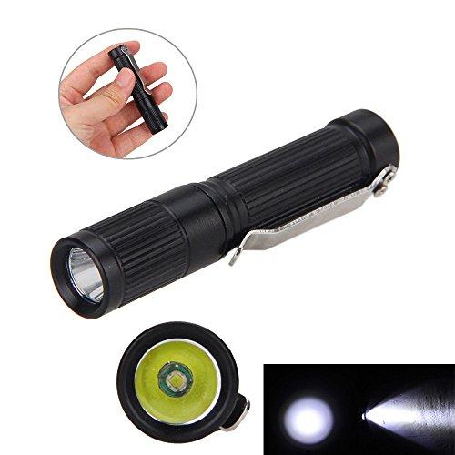 FidgetGear 1000LM Clip Mini R5 AAA/10440 Pocket Keychain Handy LED Flashlight Torch