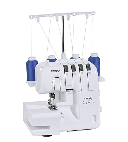 Brother Overlock 2104 D + Nähmaschinen Dealer Paket