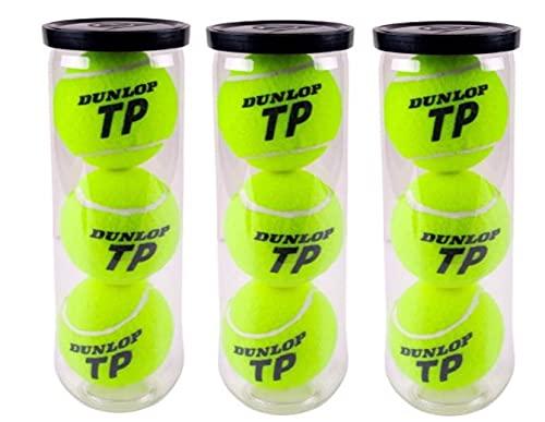 Dunlop Pelotas Tenis Pádel TP Pack 9 3x3