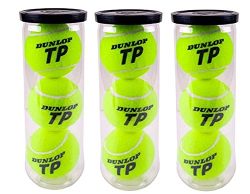 Dunlop Pelotas Tenis Brilliance Pack 3 Botes de 3 Pelotas (3x3)