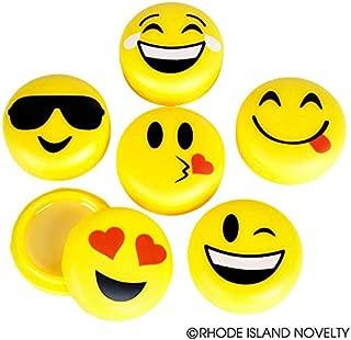 Rhode Island Novelty Emoji Lip Gloss 12pc 1.75 Inch