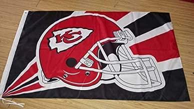 Kansas City Chiefs HELMET 3 X 5 Feet Flag helmet Banner Football Fan