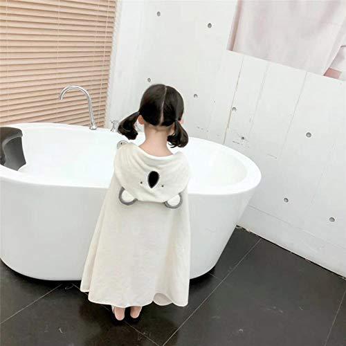 Gbcyp Handdoek Kids Peuter Katoenen Badjas Baby Jongens Meisjes Lente Dier Hooded Badhanddoek Kinderen Cartoon Handdoek, H, 75x125cm
