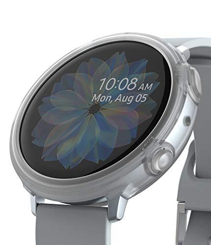 Ringke Air Sports Diseñado para Funda Galaxy Watch Active 2 (44mm) Cubierta TPU Parachoque Protectora, Carcasa Ligera Delgada - Matte Clear