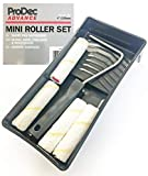 Mini Kit de bandeja de rodillo Juego de 4 pulgadas /...