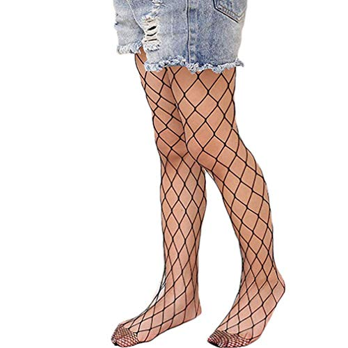 Michellecmm Children Kids Girls Hollow Out Fishnet Tights Lace Pantyhose Leggings 1 Pair