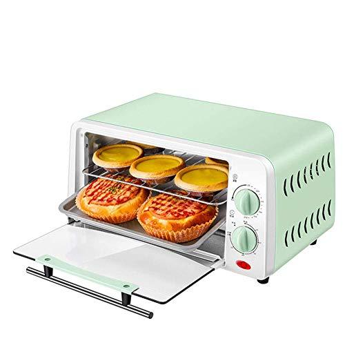 L.BAN Haushalts-Elektroofen Mini Multifunktionale Bäckerei Timer Toaster Kekse Brot Kuchen Pizza Kekse Backmaschine 12L