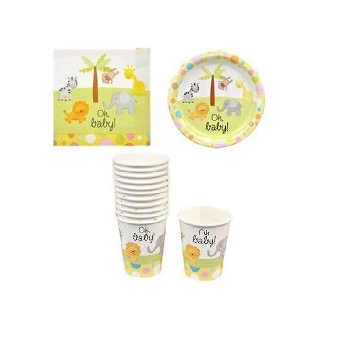Baby Shower Paper Plates, Cups and Napkins (Gender Neutral)