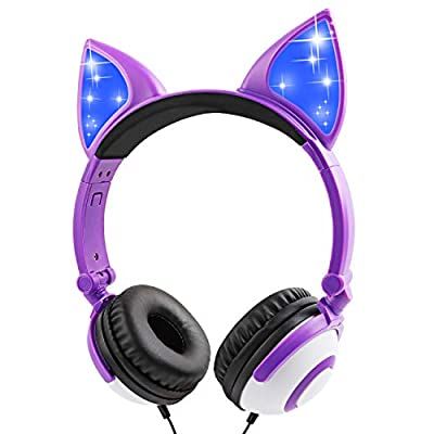 IFECCO Kids Headphones for Girl, Foldable Wired...