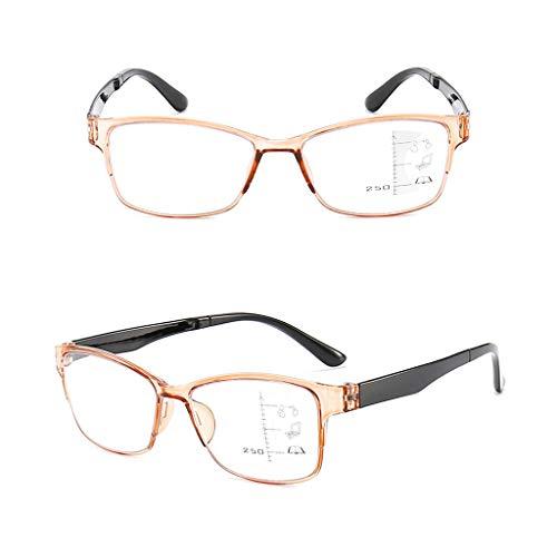 Leesbril LING AI DA MAI 2 paar dames lezers lente scharnier anti-glare ultraviolette digitale oogvermoeidheid, gedrukte bril | altijd een stijlvolle uitstraling en helder zicht te behouden wanneer nodig