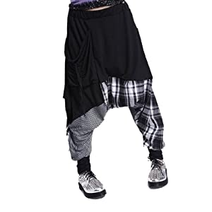 ellazhu Pantalones de hippie sueltos para mujer, GY206, talla única | DeHippies.com