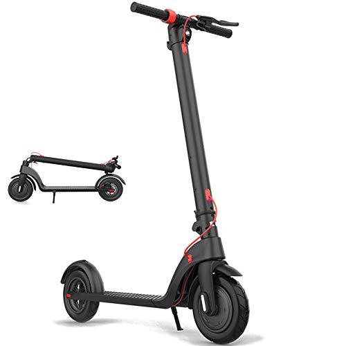 """Plegable Scooter eléctrico, Power Core 8.5"""" Scooters Pneumatic Tire eléctrico E Velocidad de hasta 25 km/h con Pantalla LCD y Luces Delanteras y traseras LED (36V / 250W batería Recargable)"""