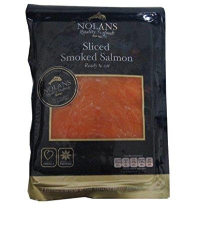 Lachs aus Irland, mild geräuchert, 200g, geschnitten.