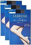 [グンゼ] ストッキング サブリナ シェイプ 同色3足組 SB420 レディース ブラック 日本 S-M (日本サイズS相当)