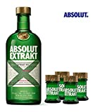 Absolut Vodka Extrakt 70 Cl & 4 Shots