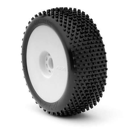 AKA 1:8 Buggy Reifen Auf Evo Felge Cross Brace Supersoft Long Wear (2)