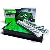 nanacole マグネット付き リバーシ 折り畳みボード テーブル ゲームセット コンパクト収納 持ち運びに便利
