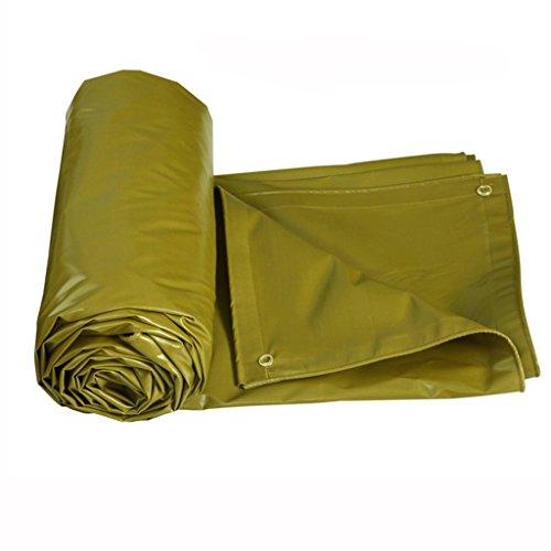 Yunyisujiao PVC Tarp Tarpaulin Waterdicht Heavy Duty Carport Tuin Gazebo Awning Party Tent Camping en Zwembad Stofafdekking Vloerbedekking Schuurdoek (Kleur: rood, Maat : 6 * 4M)