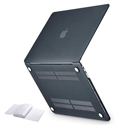 """ESR Cover per Laptop Rigida Compatibile con MacBook Air da 13 Pollici con Retina Display e Touch ID [A1932] (Versione 2018), Custodia a Scatto Sottile, per MacBook Air 13"""", Nero"""
