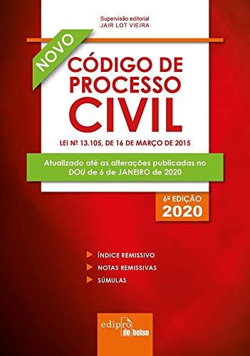 Código de Processo Civil 2020 - Mini