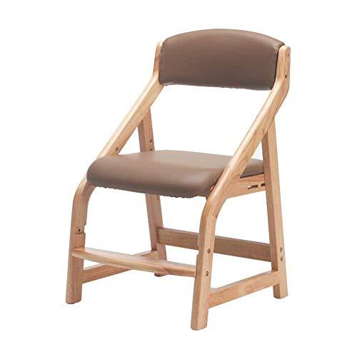 ZCXBHD PU-lederen kinderstoel/kinderbureau stoel/stoel voor thuis/computer tafel/tafel 2 kleuren, Brown
