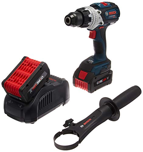 Bosch CORE18V Brushless Brute Tough Hammer Drill/Driver with Two 6.3Ah Batteries HDH183-B24
