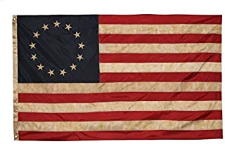 Founding Fathers Flags Betsy Ross Vintage Embroidered Flag – 3x5ft Premium Oxford Polyester