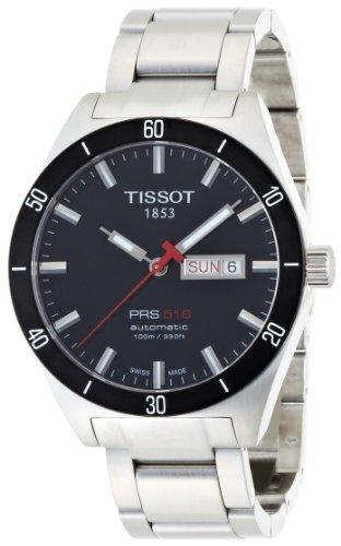 Tissot PRS516 T0444302105100 - Reloj de caballero automático, correa de acero inoxidable...
