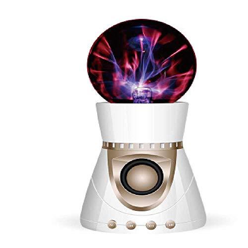 YUNYUE Magic Ball kreativ - Bluetooth - Lautsprecher Touch Helle Lampe Lautsprecher elektrostatische induktion ion Ball subwoofer Platin