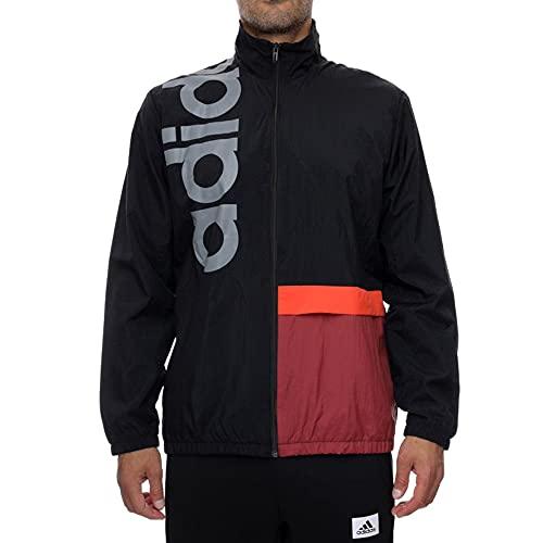 adidas Herren New Authentic Track Top Trainingsjacke, Black, 2XL