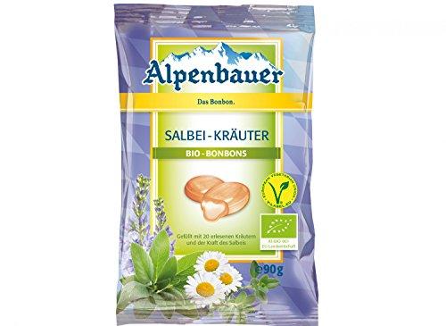 Alpenbauer Bio Salbei Kräuter Bonbons
