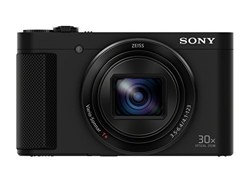 Sony DSC-HX90 Kompaktkamera (30x opt. Zoom, 60x Klarbild-Zoom, 7,5 cm (3 Zoll) Display, 5-Achsen Bildstabilisator, Full HD Video) schwarz