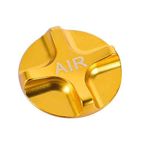 Moligh doll Fahrrad Luft Gas Schrader Amerikanische Ventil Kappen Fahrrad Federung Fahrrad Vorder Gabel Teile für MTB Rennrad Gold