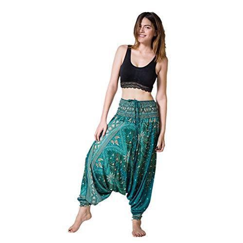NSYJK yogabroek verzending yoga leggings vrouwen zomer losse yoga broek Baggy Aladdin jumpsuit pluderbroek