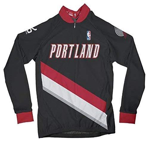 VOmax NBA Damen Radtrikot Portland Trail Blazers Long Sleeve Away, Damen, Portland Trail Blazers, XXXX-Large