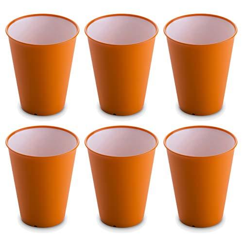 Omada Design set de 6 vasos de bar, para bebidas o tragos...