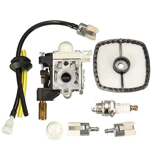 Motoraccessoires motorfiets carburateur met luchtfilter brandstoffilter brandstofleiding bougie ingegoten kabel Vent kits carburateur motoronderdelen