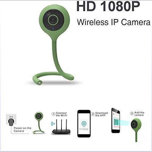 Inteligente Monitor de los niños 1080P Ultra Claro inalámbrico WiFi detección de Movimiento Alarma de Infrarrojos de Doble Filtro Temperatura y Sensor de Humedad Cuidado para la Familia
