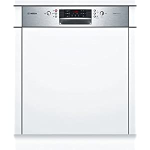 Bosch smi46ks01e Fully Built-in 13places A + + Stainless Steel, White Dishwasher – Fully Integrated Dishwasher (, A, A + +, Full Size, Stainless Steel, White, Buttons)