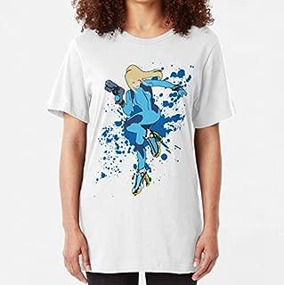 Zero Suit Samus Super Smash Bros Slim Fit TShirt, Unisex Hoodie, Sweatshirt For Mens Womens Ladies Kids