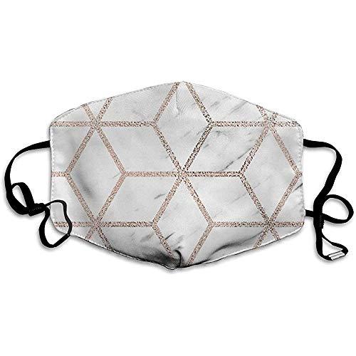 Olympia Rose Marble Geometry Komfortable Abdeckung, Universalabdeckung