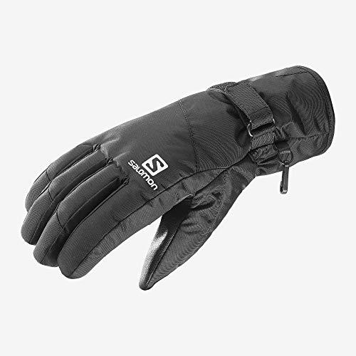 Salomon Herren Handschuhe, FORCE DRY, Atmungsaktiv, Schwarz, Gr. S, L39499500