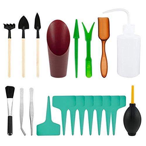 Ayaaa 20 Piezas Herramientas de Juguete de jardín/Playa, Herramientas de jardinería, Juego de Herramientas de plantación, Herramienta de trasplante de Plantas en macetas y jardinería