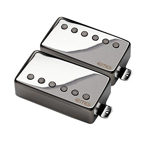 EMG JH James Hetfield Electric Guitar Pickup Set, Chrome