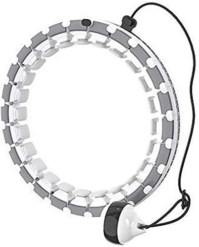 QIANMEI Reifen Hula Hoop Hula-Hoop-Fitness | intelligent gewichteter Hoola-Reifen | Geeignet für Fett und dünn, leicht gestalten die Fitnesskurve des Körpers